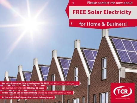 TCR Solar Campaign